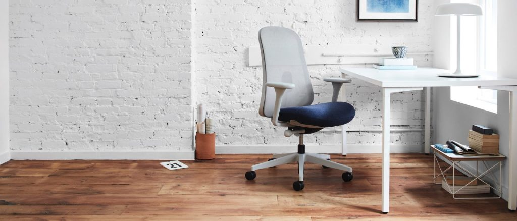 Herman Miller Lino chair in home environment.